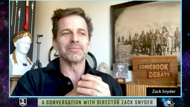 ComicBook Debate — Interview with Zack Snyder