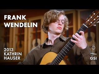 """Manuel Ponce's """"Sonata III: II. Canción. Andante"""" played by Frank Wendelin on a 2013 Kathrin Hauser (2021)"""
