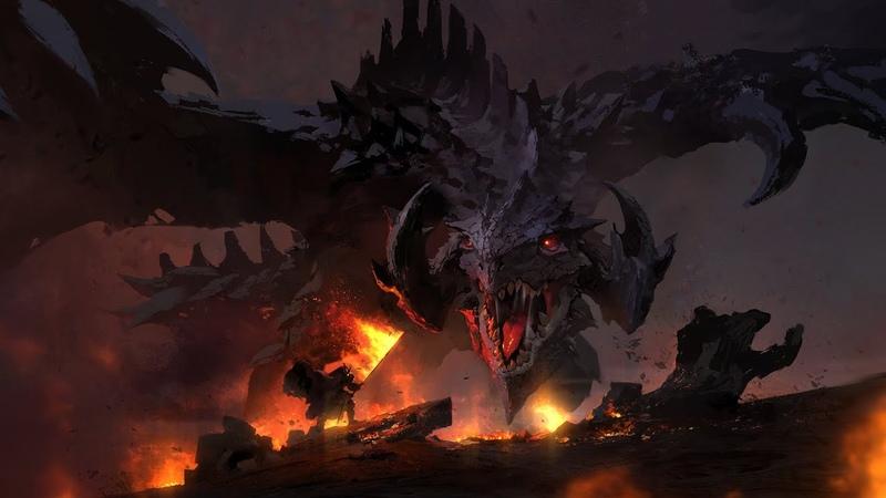 DRAGON FIRE Epic Powerful Music Mix Heroic Hybrid Music