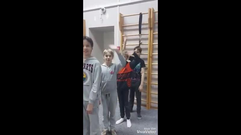 24 12 2020 Алексей Токарев Упражнения в зале на мате