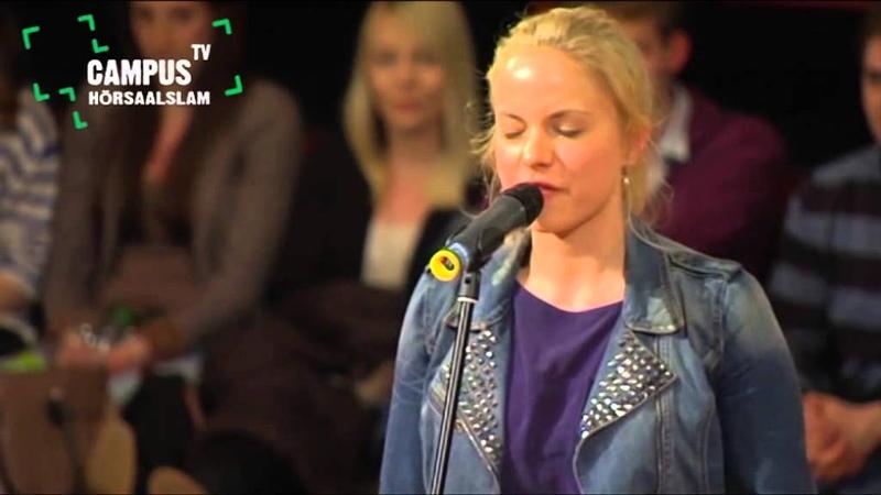 5 Bielefelder Hörsaal Slam Julia Engelmann Campus TV 2013