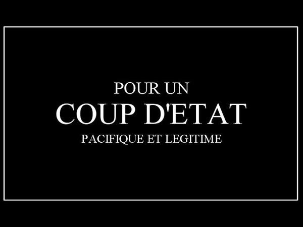 Annonce du renversement du gouvernement français