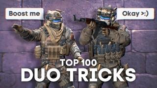 Top 100 Duo Tricks
