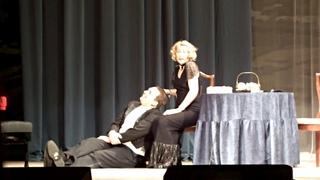 Спектакль «И смех, и слезы, и любовь...» часть 1, Б.Шоу «Как он лгал ее мужу».