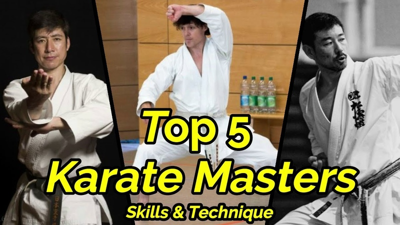 Top 5 Most Technical Masters of karate